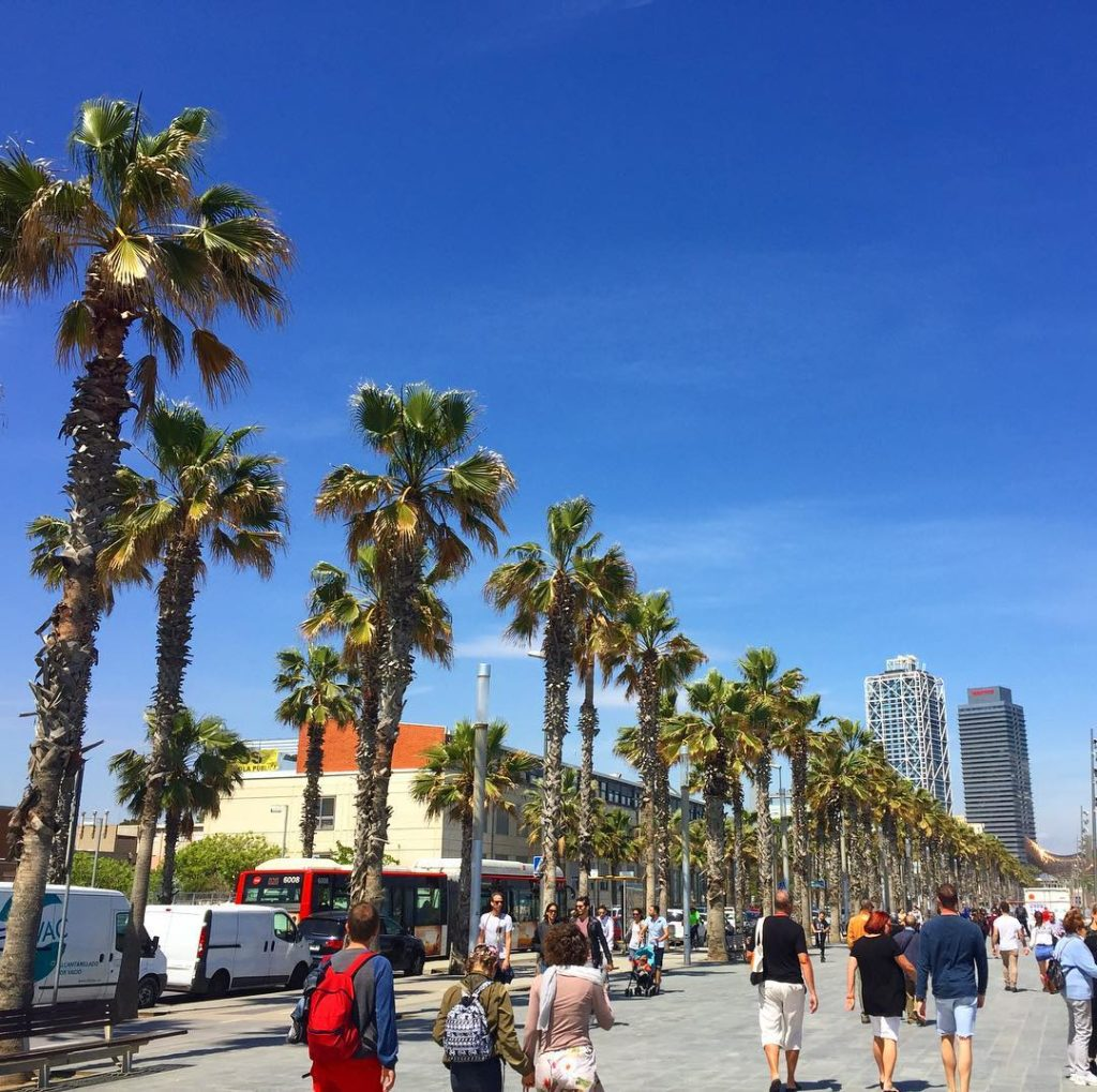 Barcelona seaside - Barceloneta is one of the best Barcelona photo gallery