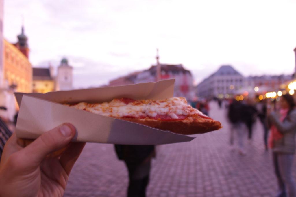 Food at Warsaw Poland