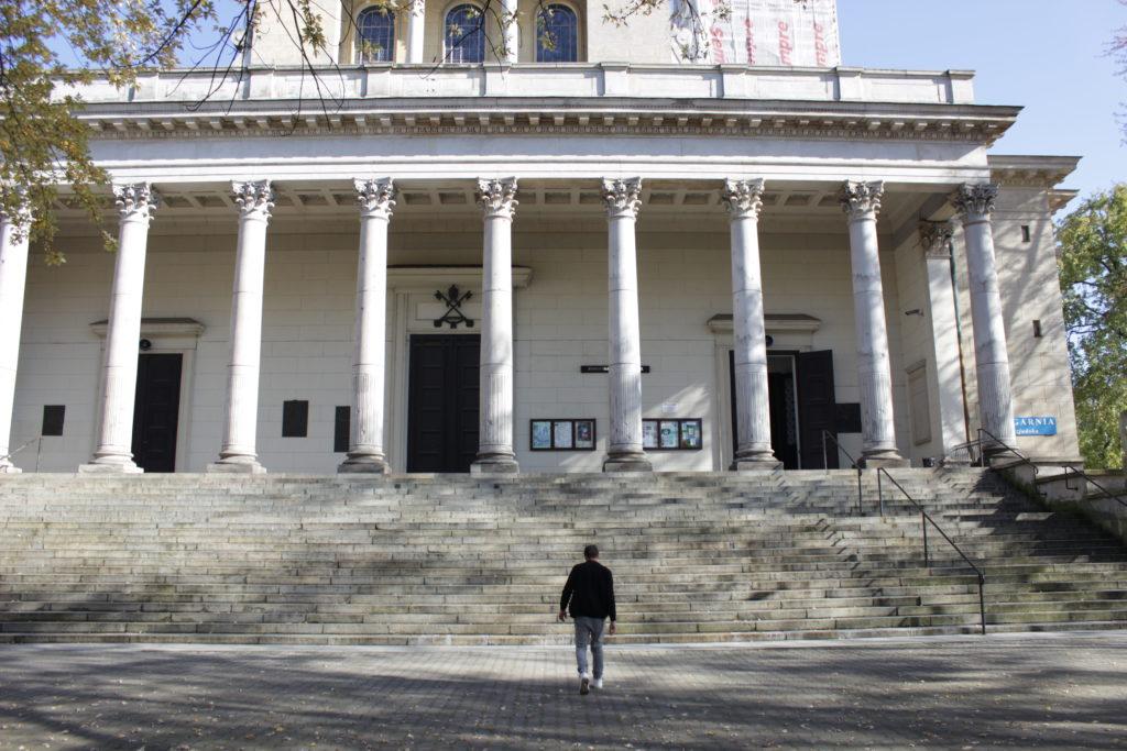 Warsaw church to John Paul 2