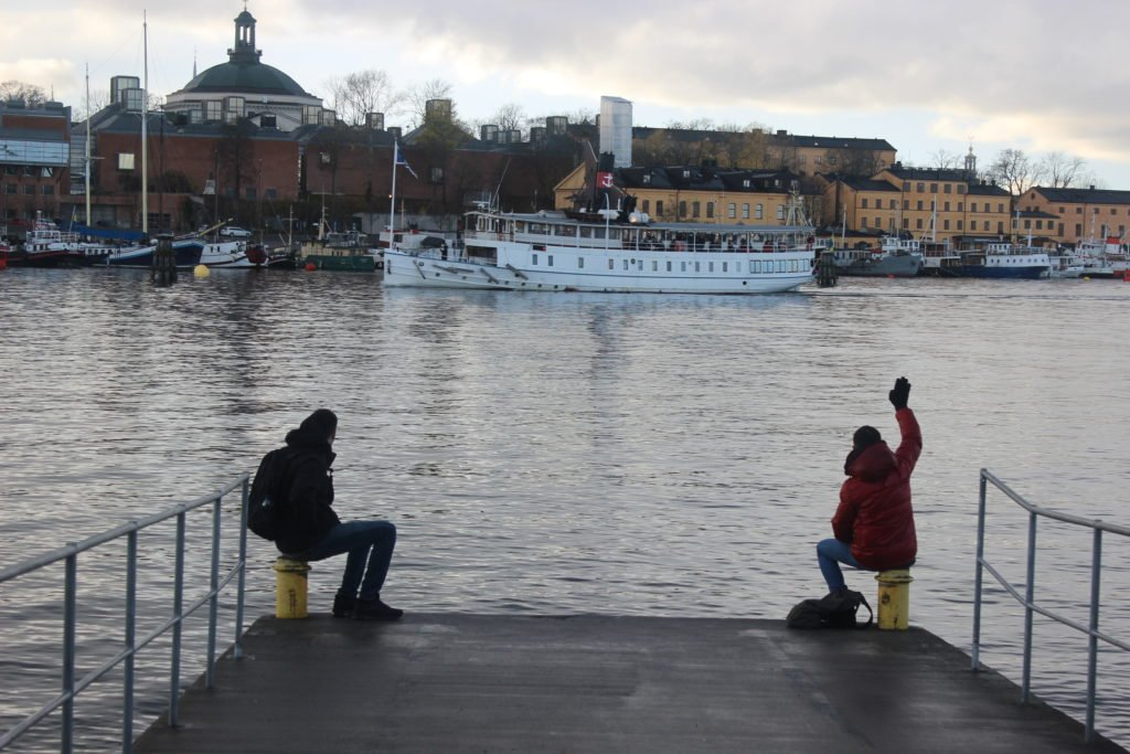 On the seaport of Stockholm
