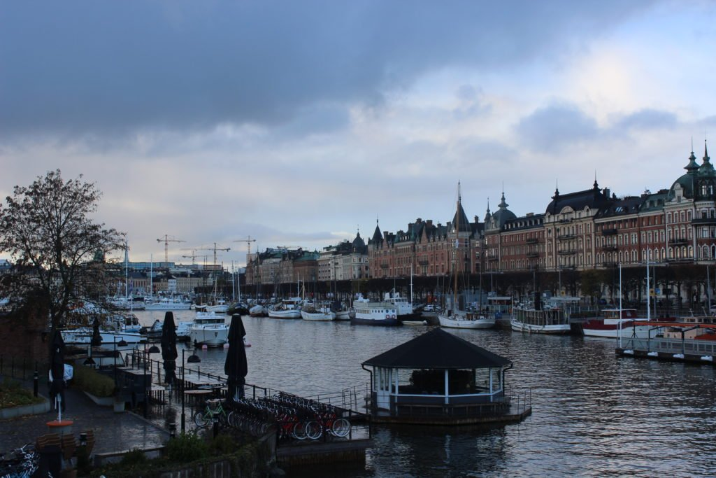 riverside of Stockholm