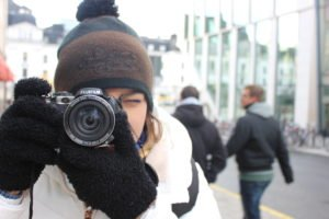 Alessia shoot a photo - Italiantripabroad