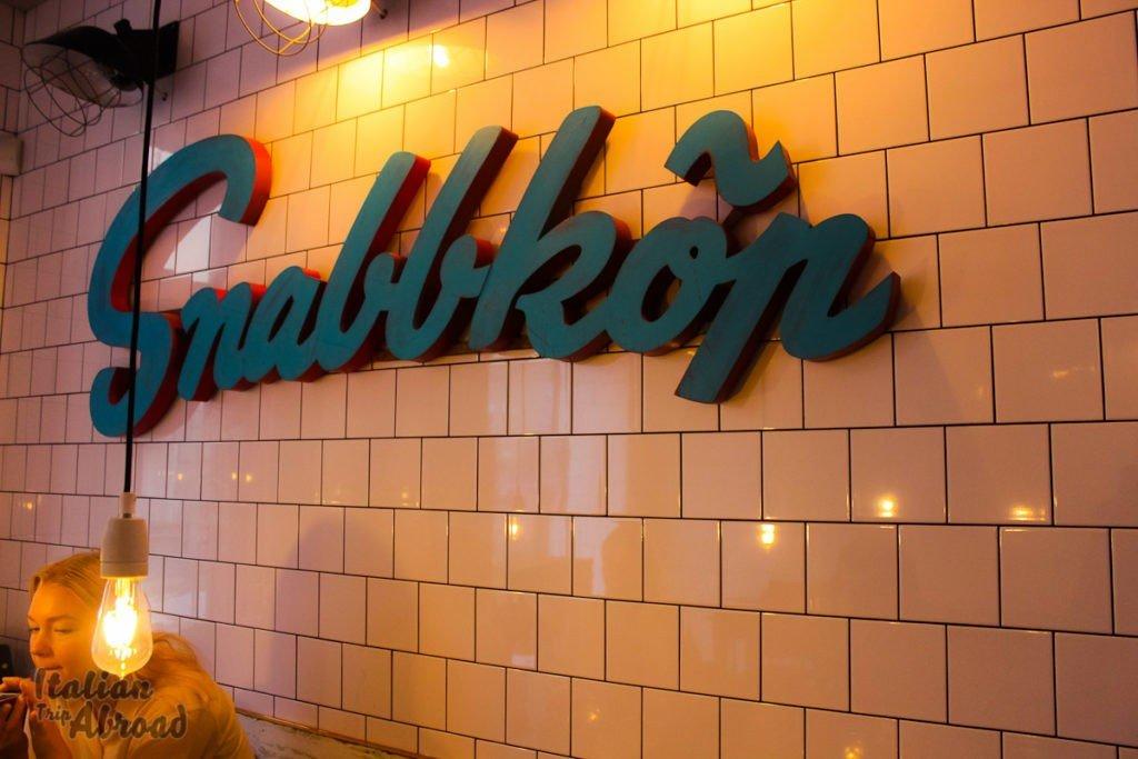 snabbkop bakery stockholm - italian trip abroad breakfast