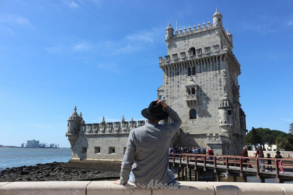 Best time to visit Lisbon, Portugal. The view of the Belem Tower