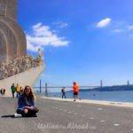 Discovery Monument - Lisbon - Italiantripabroad - Bimba - 25th abril Bridge