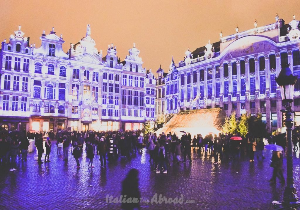 Grand place - Main square - brussels - Grote Markt - italian trip abroad