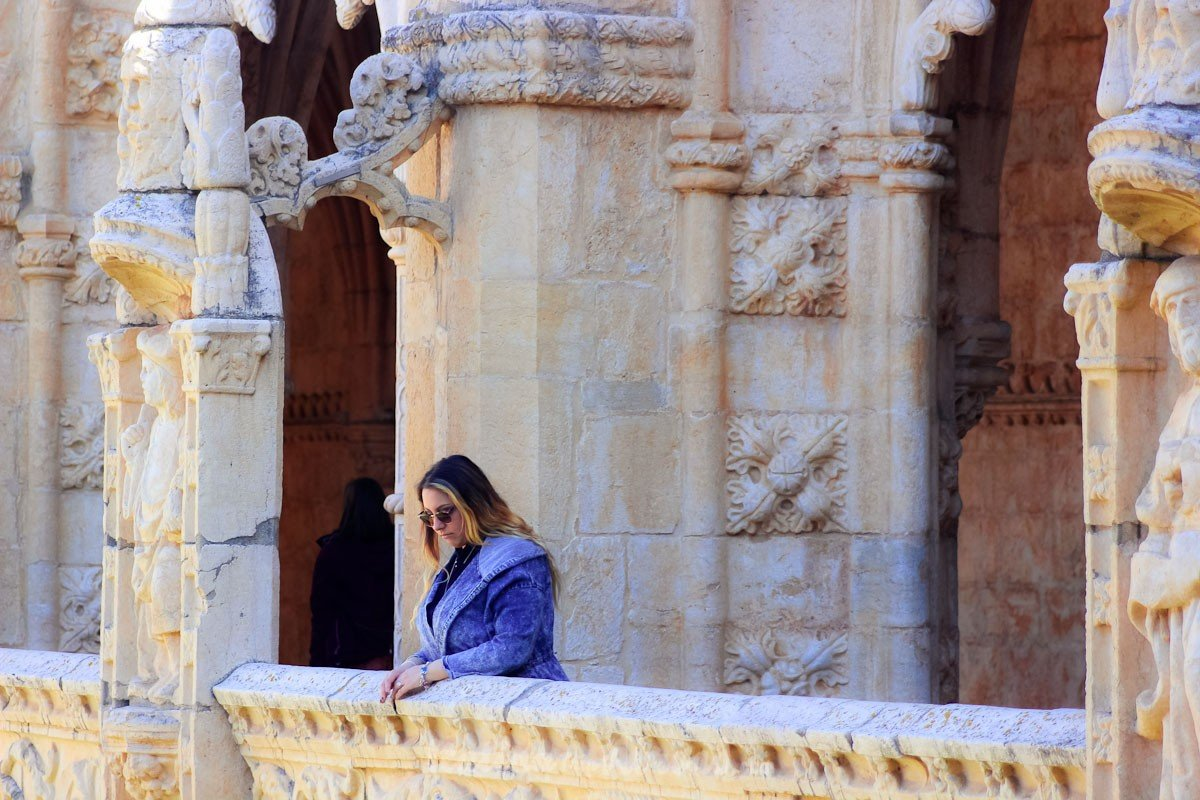 Monastero dos Jeronimos - Lisbon - Italiantripabroad-bimba