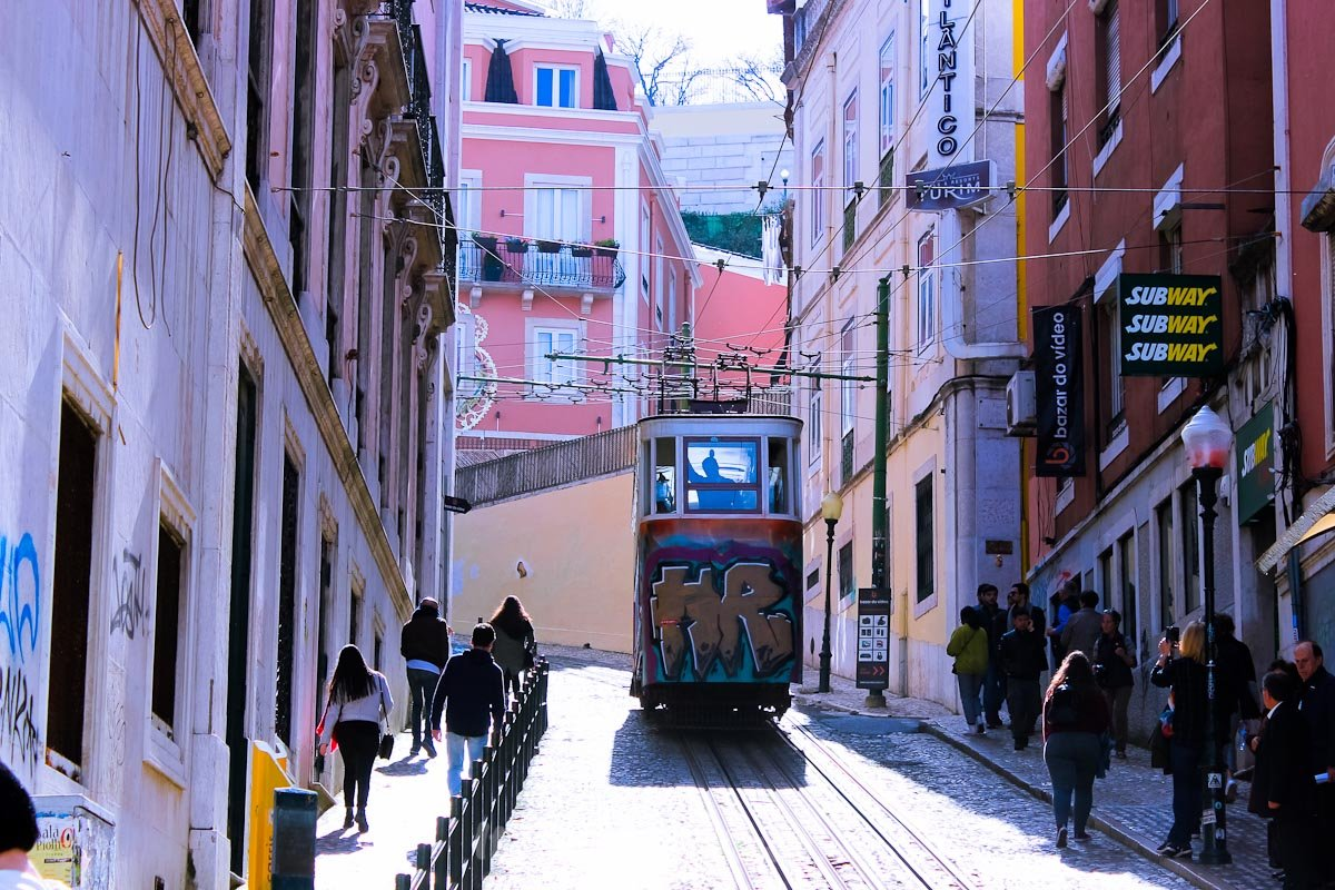 tram - transport - Lisbon - Italiantripabroad