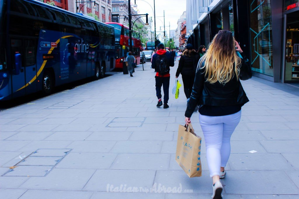 Bond street and oxford street London - The best of London