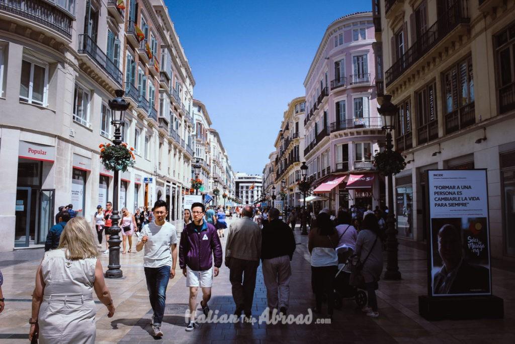 MAlaga Shopping Street - Calle Lario