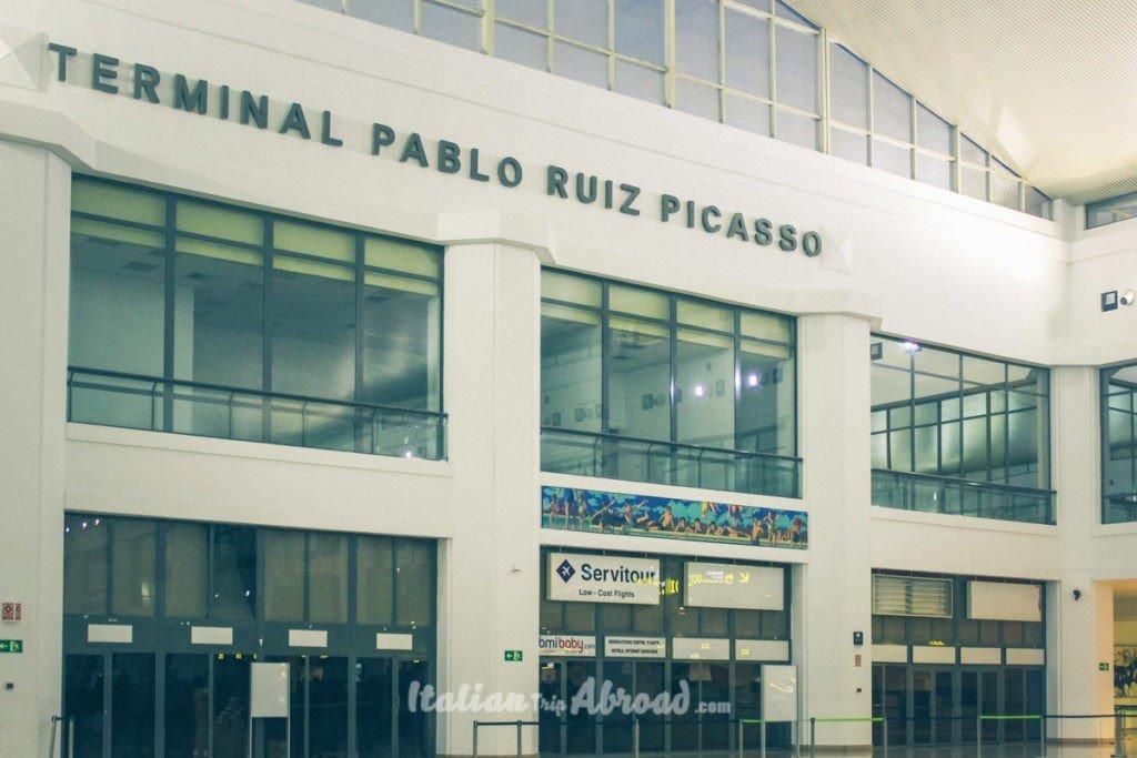 pablo picasso airport malaga spain
