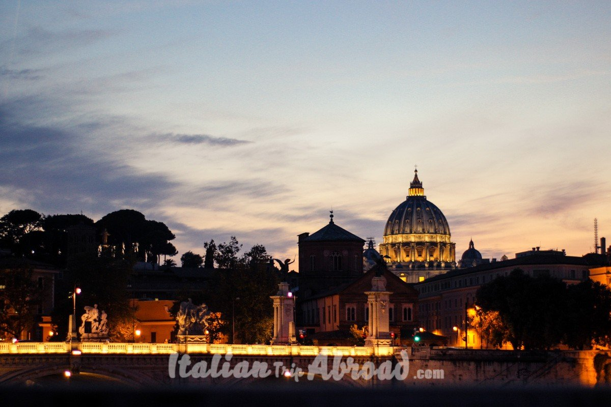 The best of Rome - The view on Rome - San Pietro