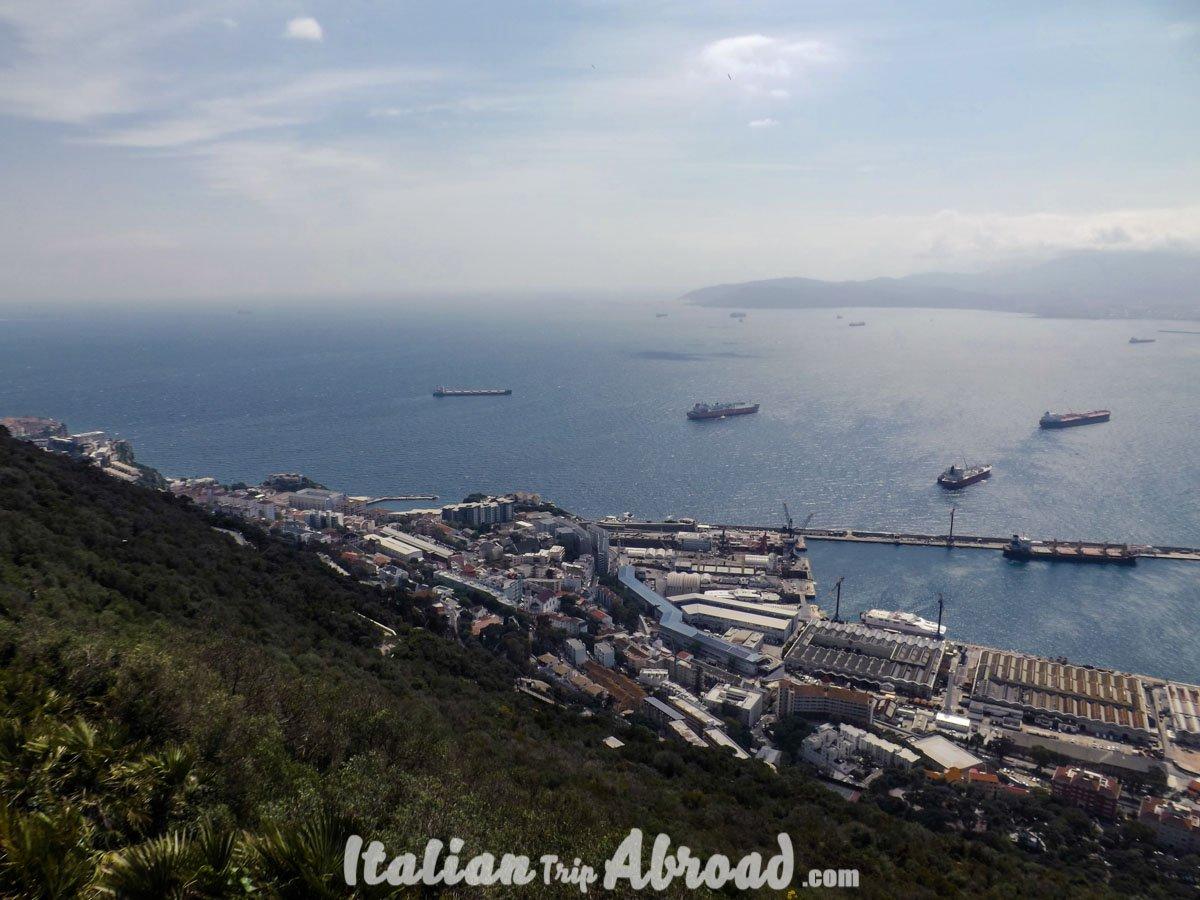 1 day in Gibraltar - Tour of Gibraltar - gibraltar landscape from the rock