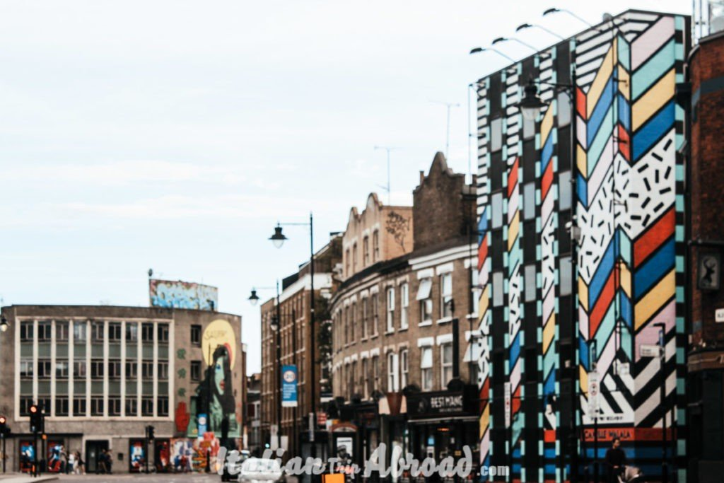 Book a tour of East London - Shoreditch High Street, exit from Old Street Tube station