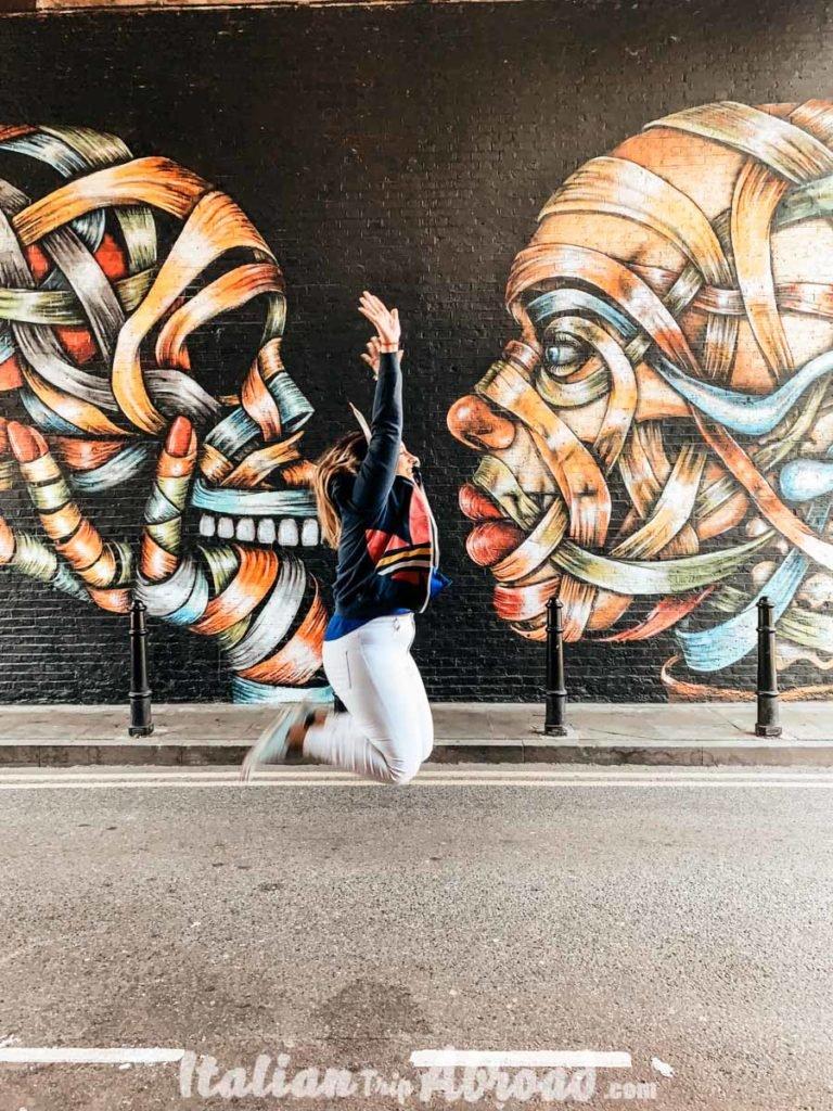 Shoreditch and Brick Lane - shot in the art