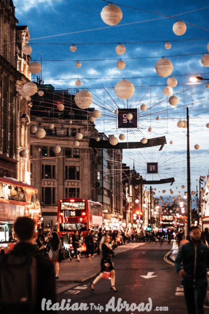 Oxford Circus - London - United Kingdom - UK
