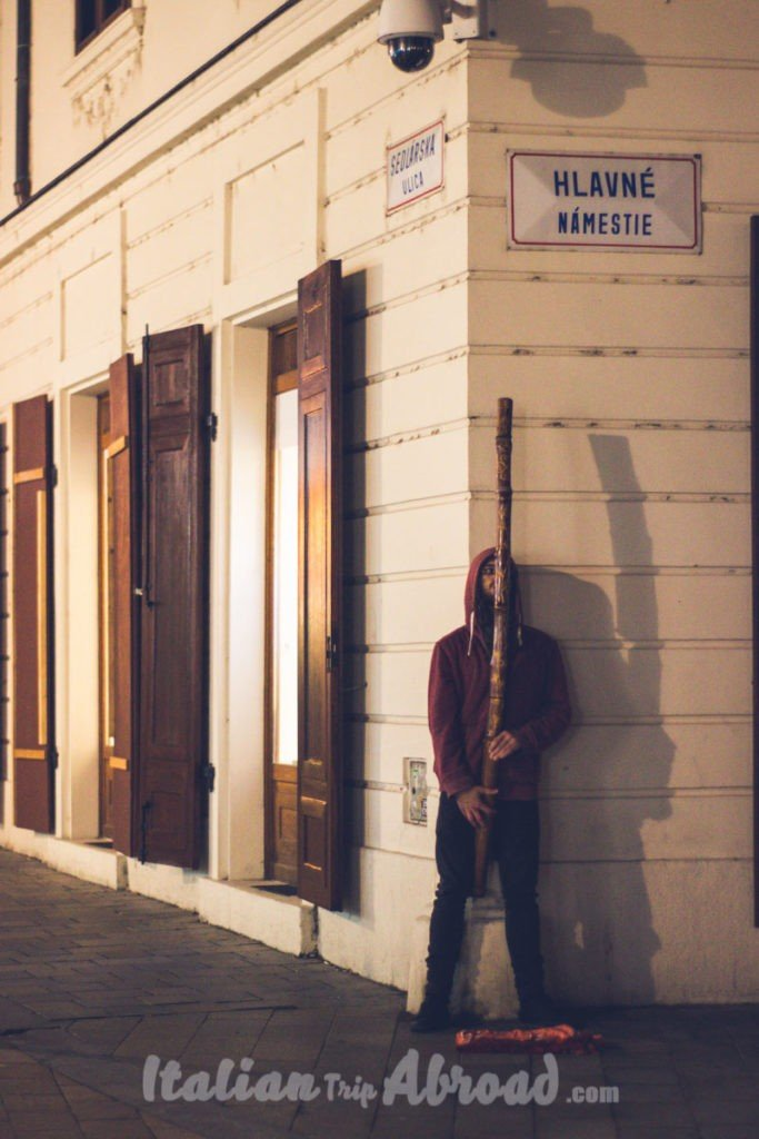 Street Artist Bratislava in a day
