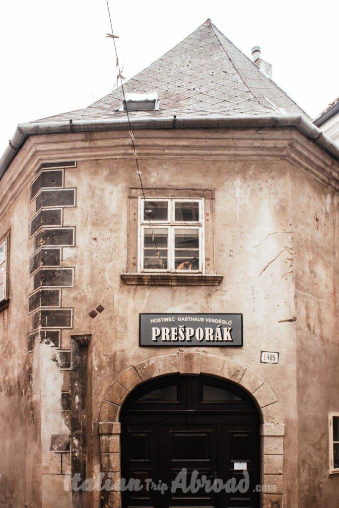 Where to eat in Bratislava - 1 day in Bratislava Slovakia