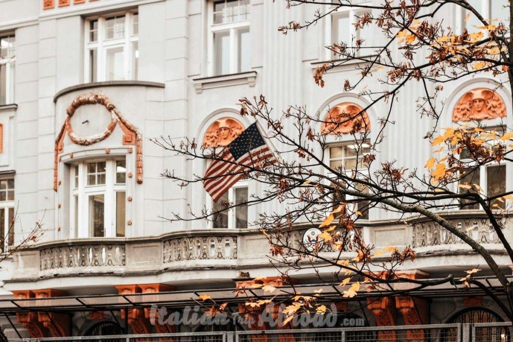 America's Embassy Bratislava Slovakia