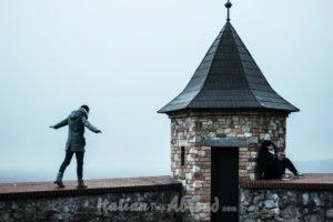 Italian Trip abroad toti and Alessia at Bratislava - Slovakia