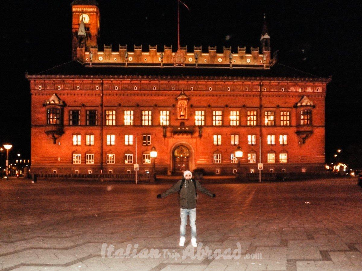 Town hall openhagen denmark europe italian trip abroad