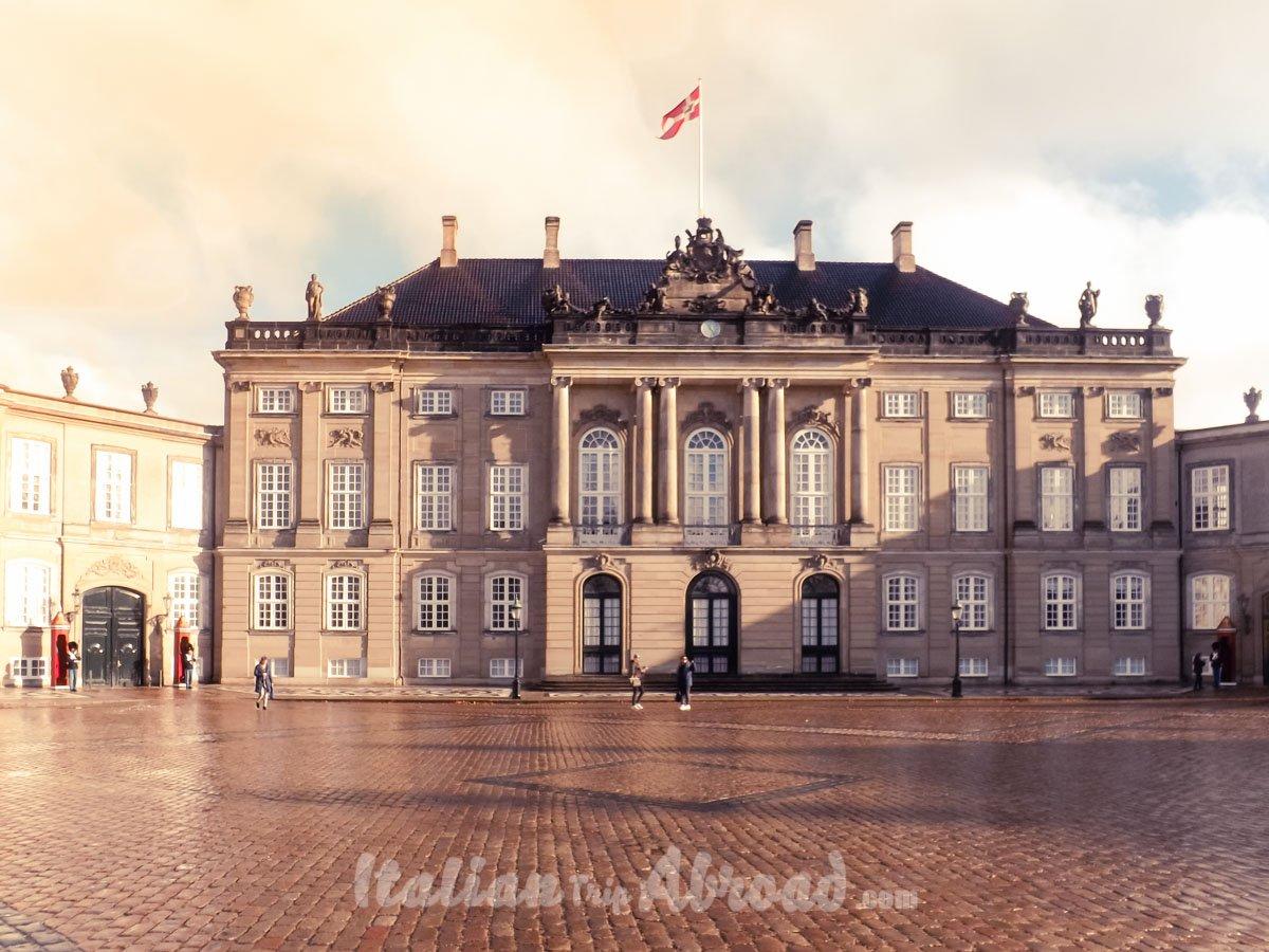 Amalienborg Castle copenhagen Royal Castel