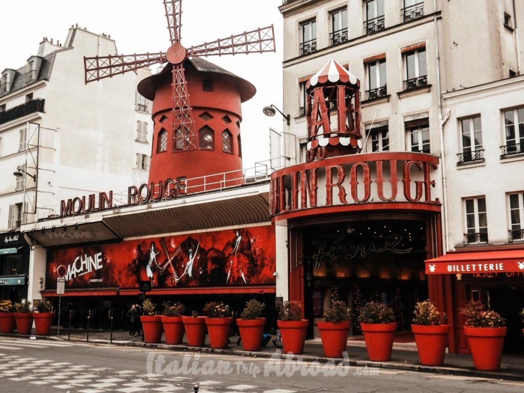 Moulin Rouge - Paris, France - Famous places in Paris