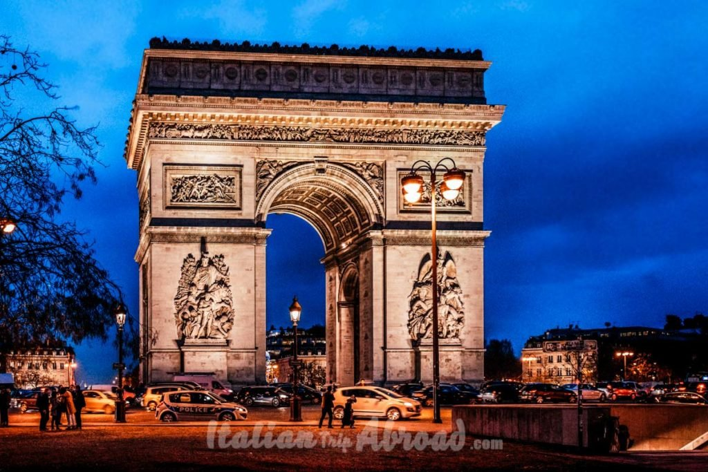 Paris Arc de Triomphe - Photo of Paris