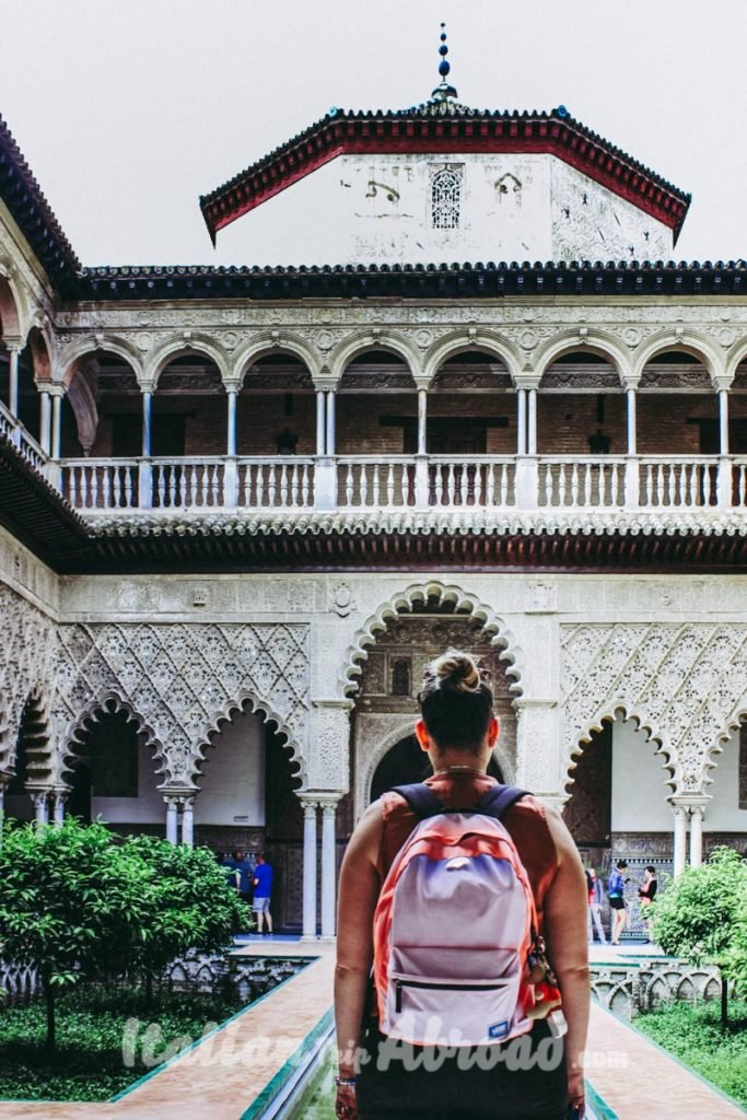 Intern of the Real Alcazar of Seville - The Royal Palace