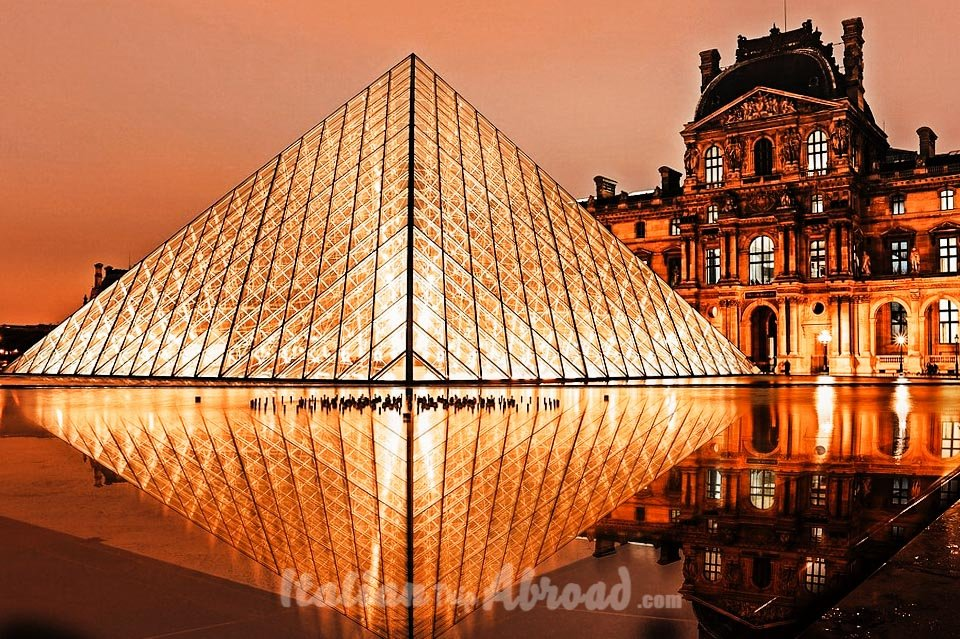 Louvre Pyramid Paris France Instagrammable Paris