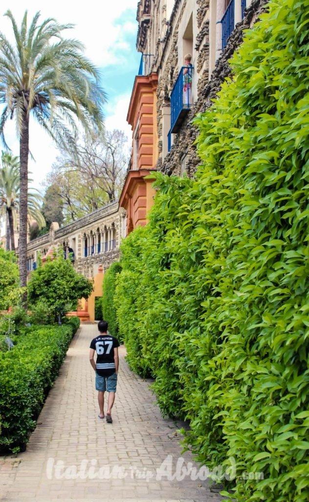 Alcazar Seville Gardens | Spanish Bucket list