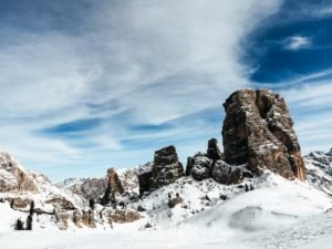 Best ski chalet in Italy - Unesco Winter Mountain Snow Cortina D'ampezzo