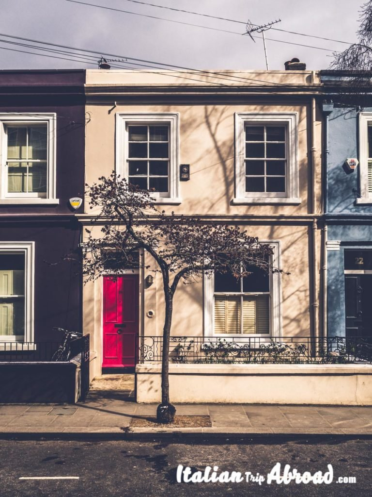 Prettiest streets in London - self guided tour