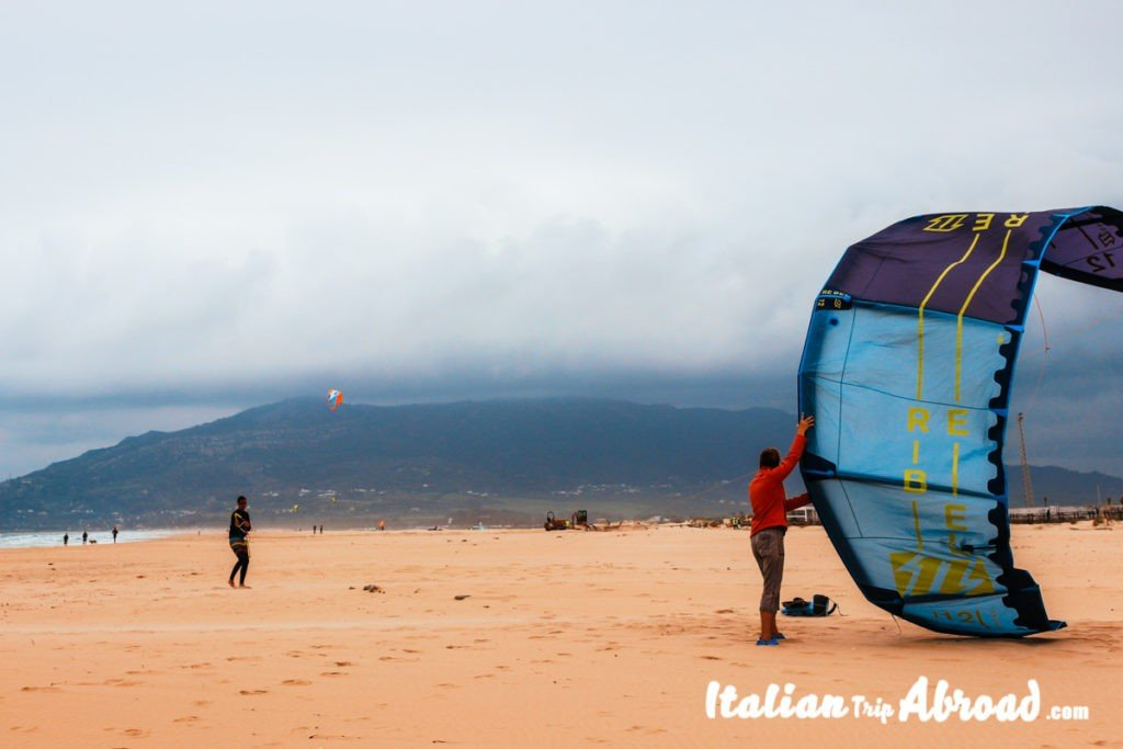 The Kiteboarding Day is starting in Tarifa