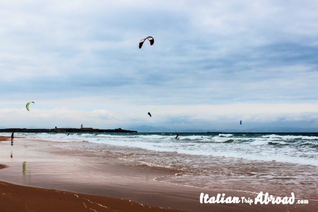 Tarifa-kitesurfing - Kite boarding tarifa