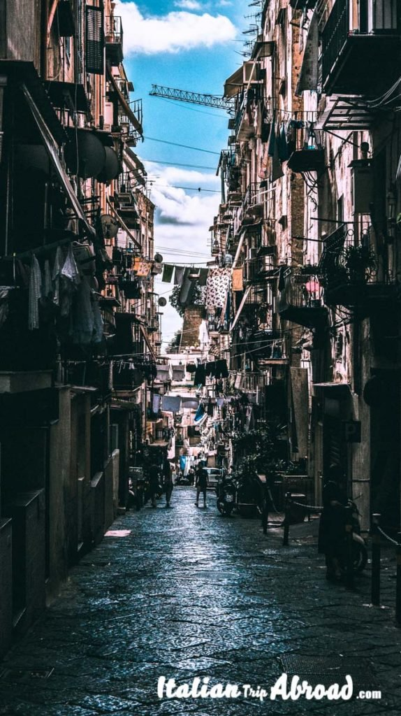 The old spanish quarter of Naples is one of the popular attractions of the city - Visit Naples in one day