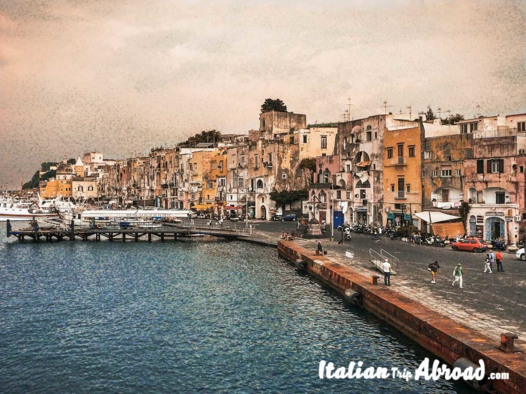 procida seaport - harbor of Procida island of Napoli - What to do in Naples Italy in 2 days