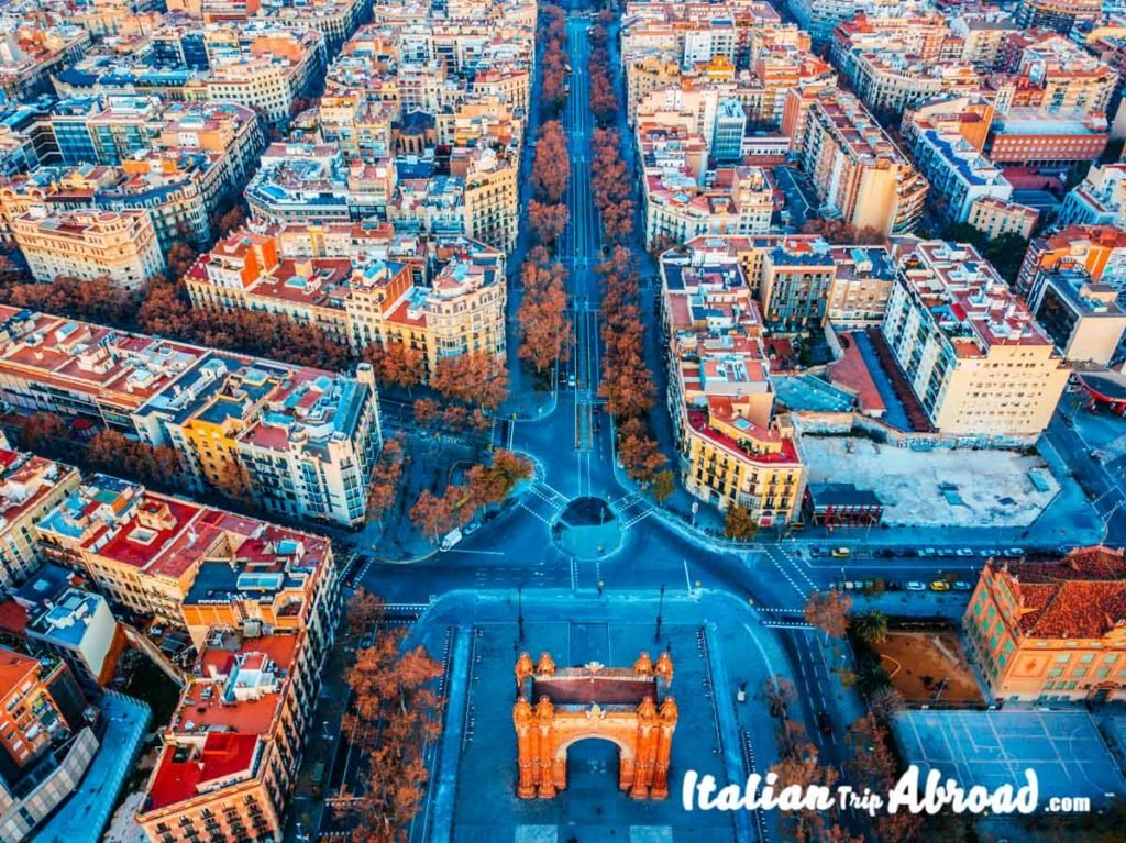 Instagrammable places in Barcelona - Arc de Trionf Barcelona - Spain