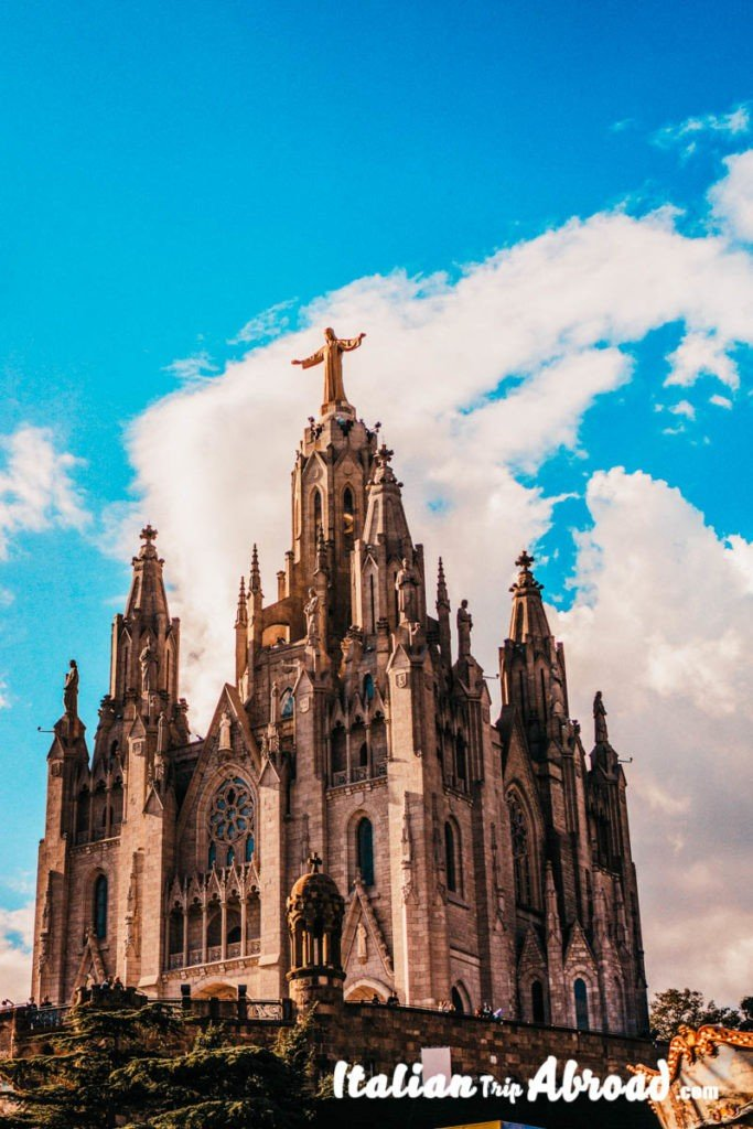 Tibidabo Temple - Sacred Cour of Jesus in Barcelona - Best photo spot Barcelona