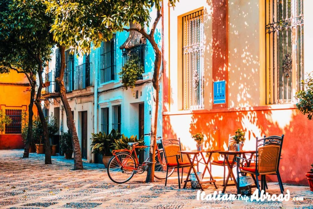 A typical local Barrio in Barcelona - Instagrammable places in Barcelona - The catalan culture