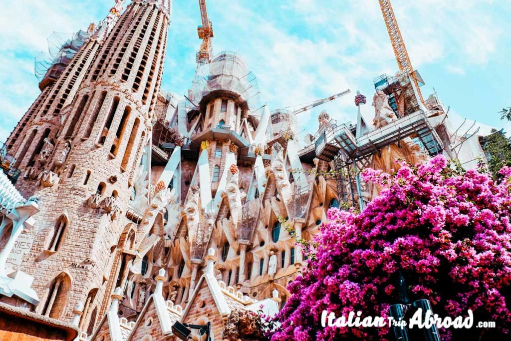 Best photo spots in Barcelona - Sagrada Familia