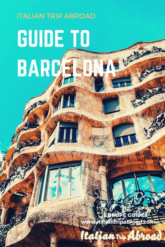 The best Spring Break in Barcelona - Spain 2