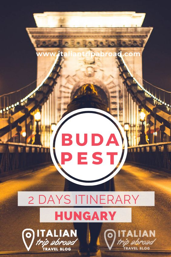 2 days in Budapest - Hungary - Pin Me!
