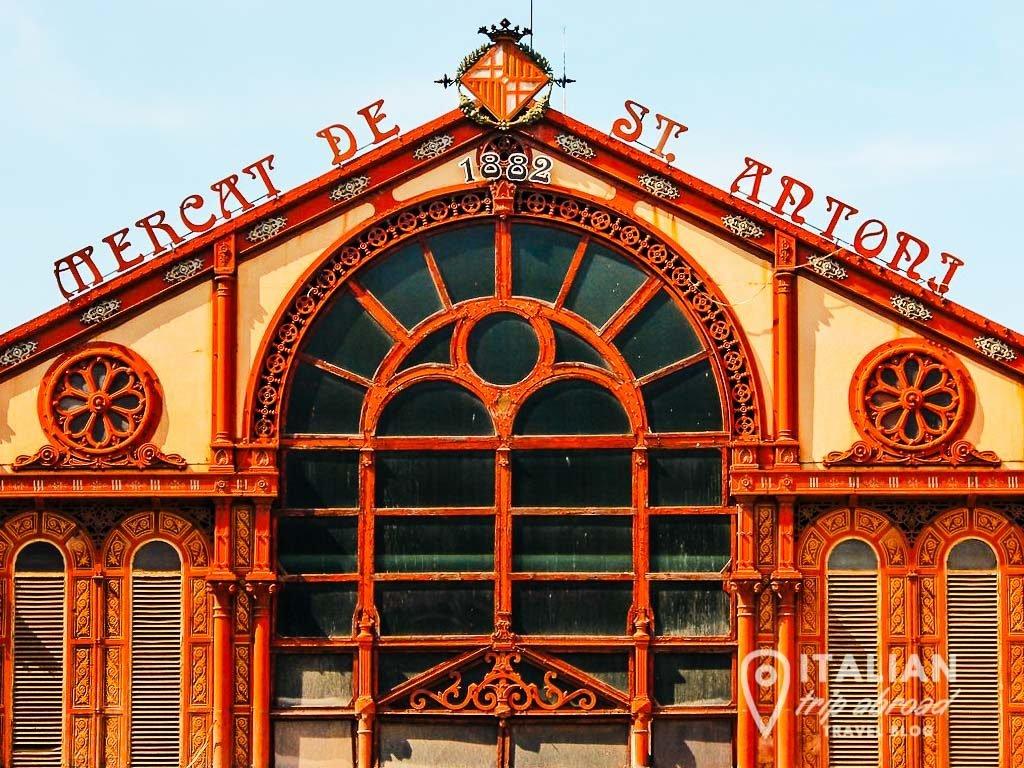Barcelona hidden gems - Mercat de Sant Antoni - Spain-2