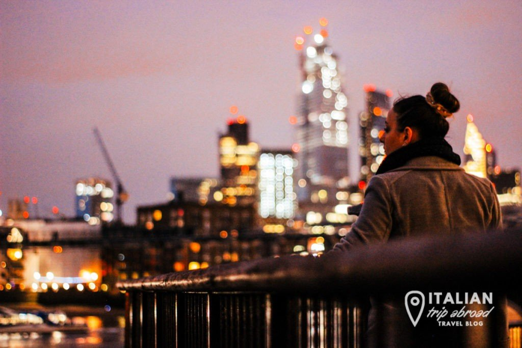London photography at night - Italian Trip Abroad - Southwork
