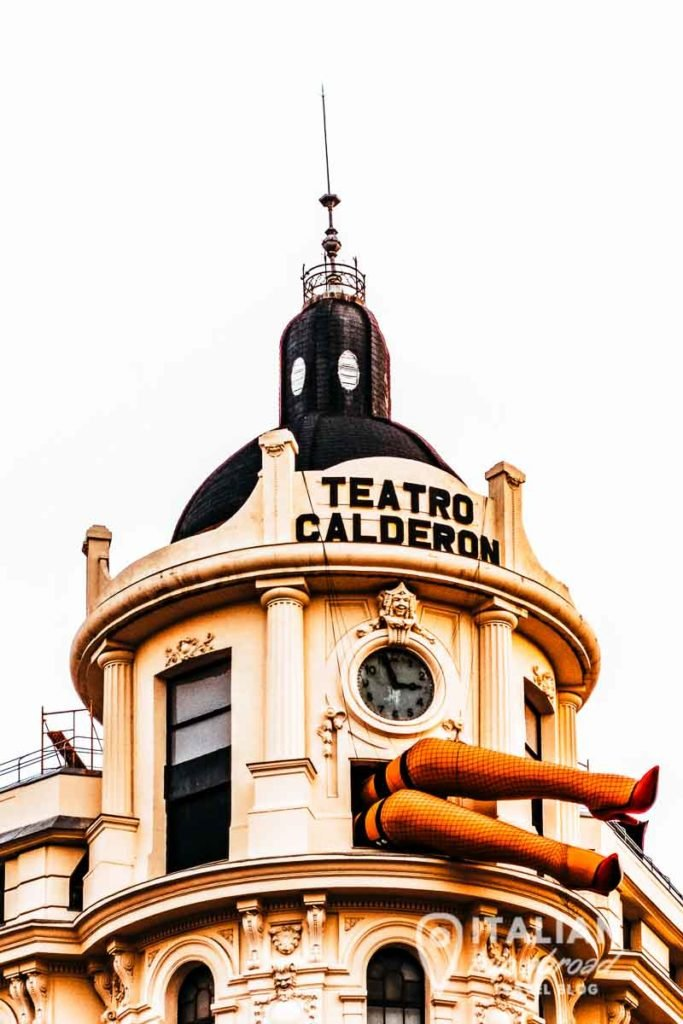 Teatro Calderon of Madrid - Most instagrammable places in Madrid