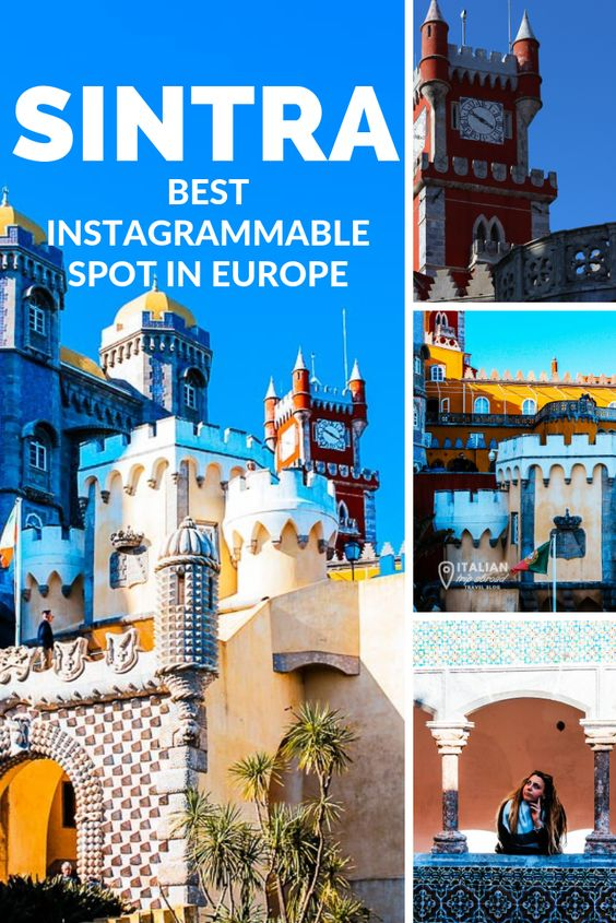 Sintra best instagrammable castle in Europe