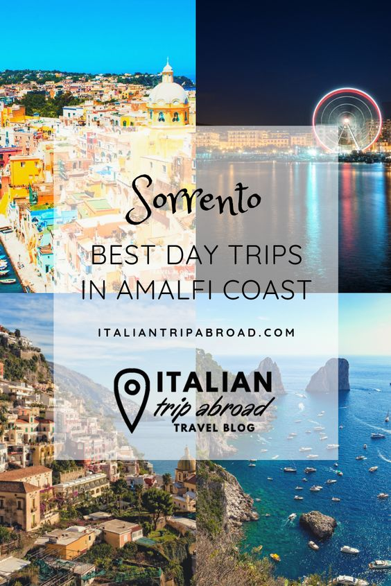 Sorrento - Best day trips in the Amalfi Coast
