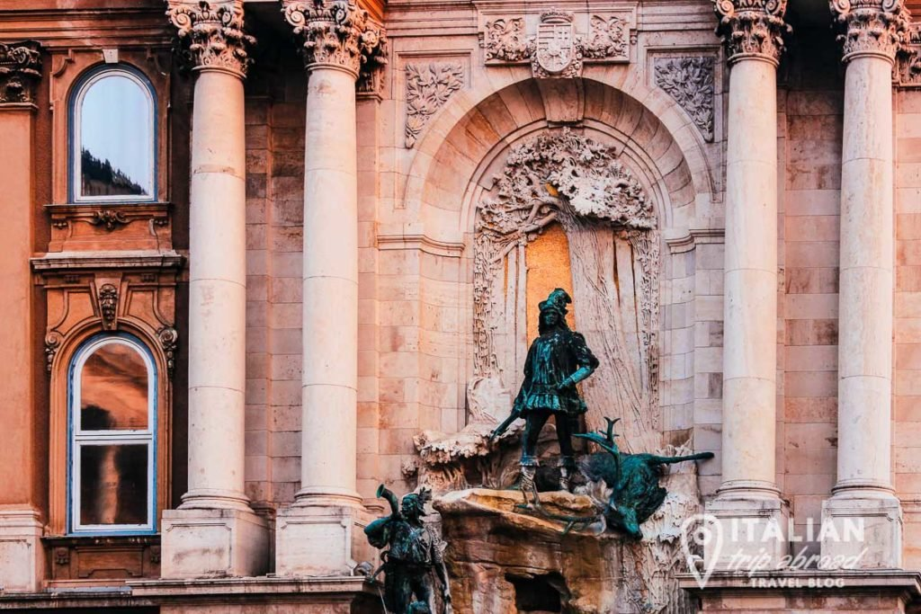 Details of Buda Castle - Budapest Itinerary