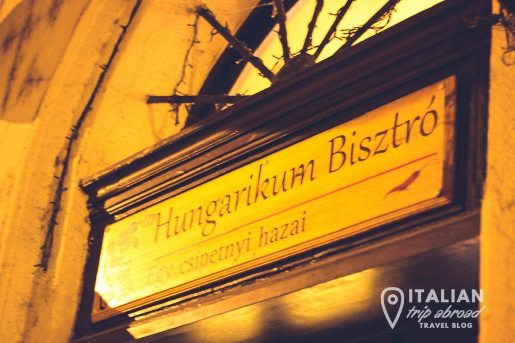 Hungarikum Bisztro is one of the the best places where to eat in Budapest
